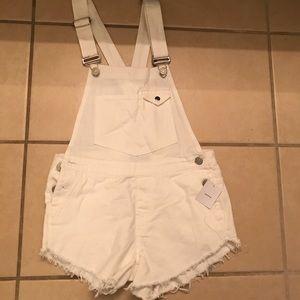 BDG White overalls